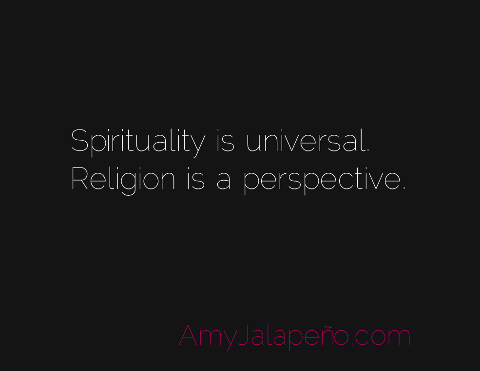 difference between religion and spirutality Religion separates, spirituality unites through our world there are many religions and they all preach that their story is the right story spirituality sees the truth in all of them and unites them because the truth is same for all of us despite our differences and uniqueness it focuses on the quality of the divine message they share and not on the.