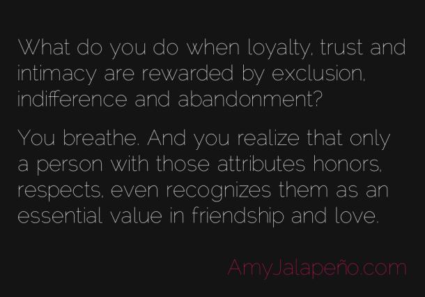 essay on trust