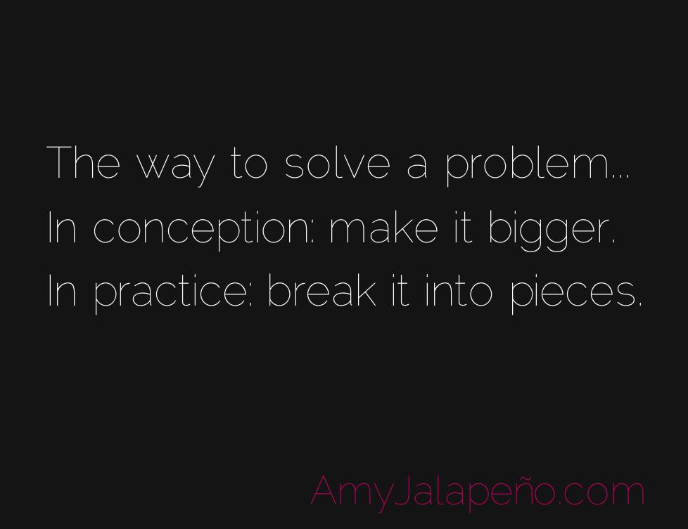 solve problem quote
