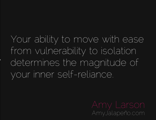 Where Are You At With Your Inner Self-reliance? (daily Hot