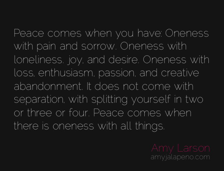 peace-oneness-duality-joy-passion-desire-loss-pain-creativity-amyjalapeno