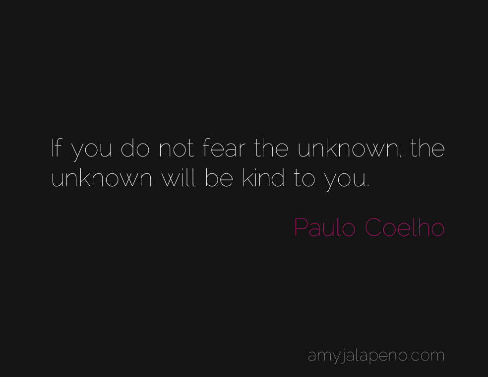 What Will Happen When You Do Not Fear The Unknown Daily Hot Quote