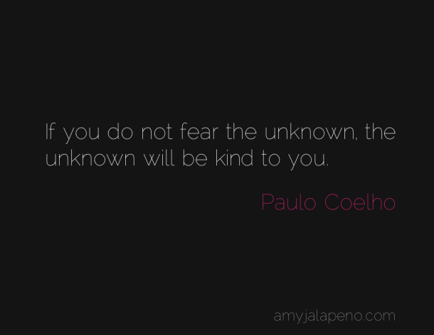 What Will Happen When You Do Not Fear The Unknown (daily