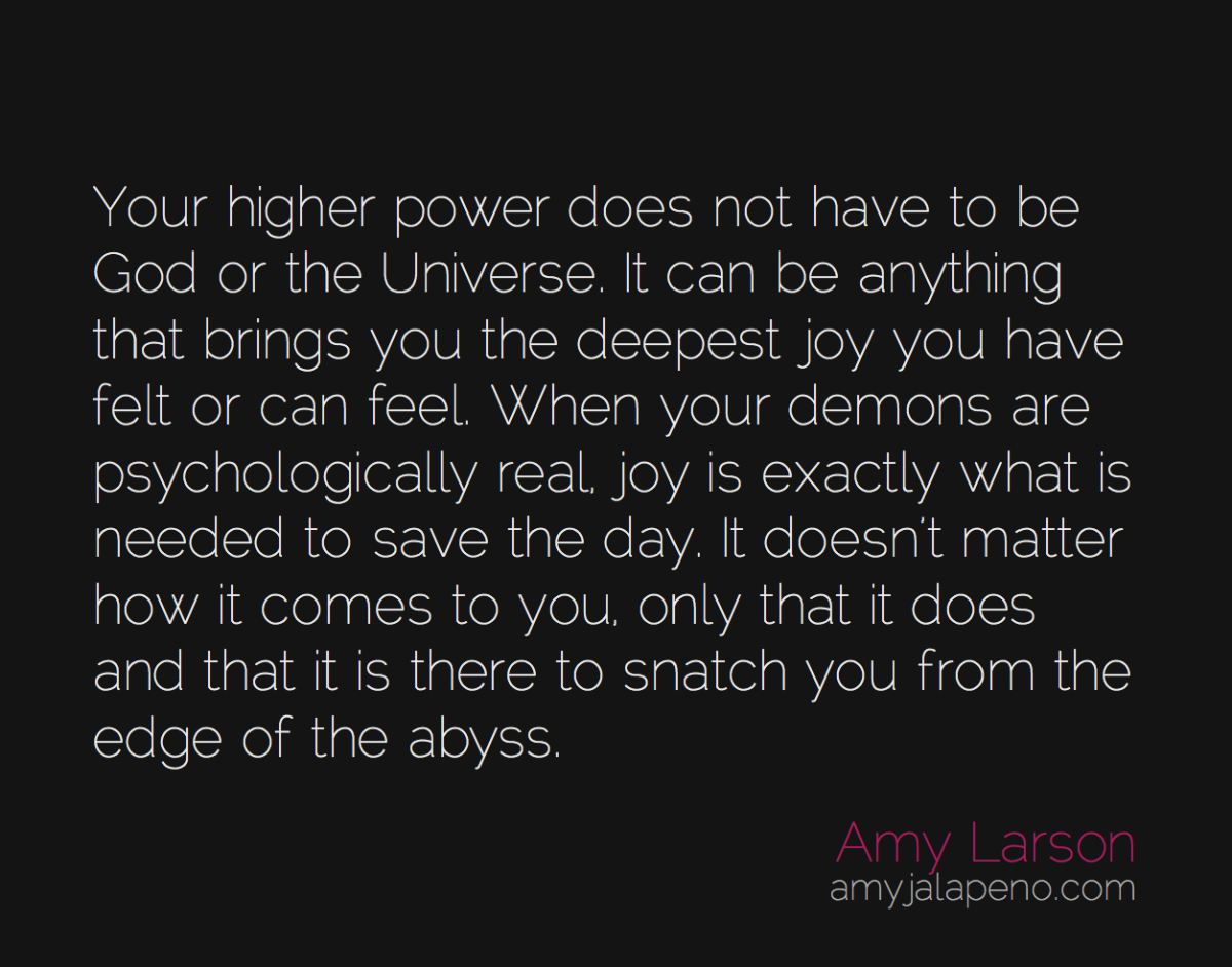 what is your higher power (daily hot! quote)