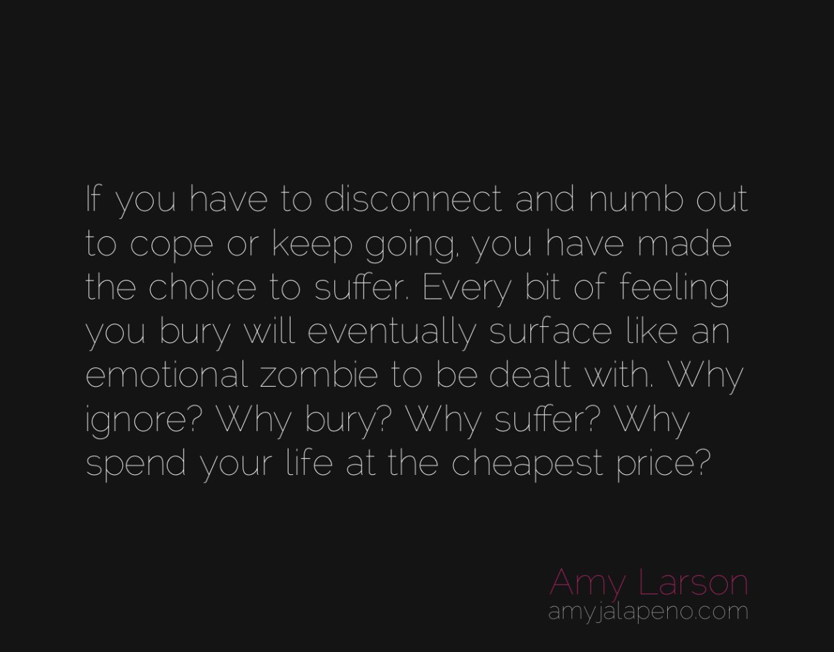 are you choosing to suffer? (daily hot! quote)