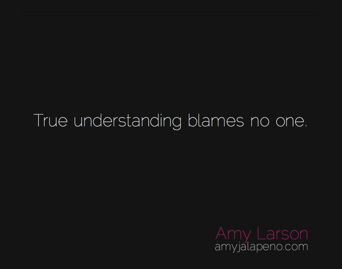 on understanding (daily hot! quote)