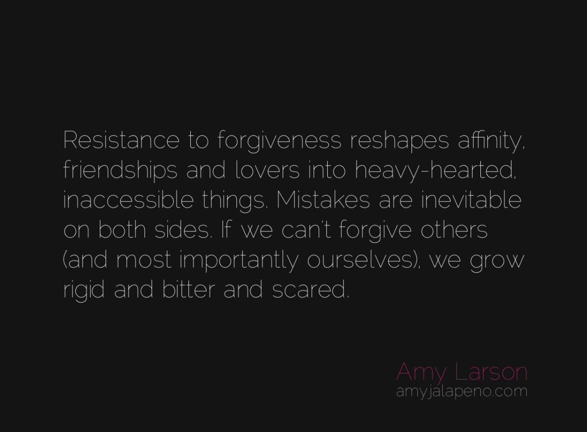 what happens when you don't forgive? (daily hot! quote)