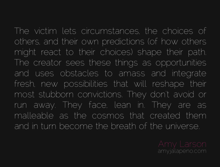 victim-conviction-thinking-beliefs-metamorphosis-choice-possibility-breath-life-universe-cosmos-creator-amyjalapeno