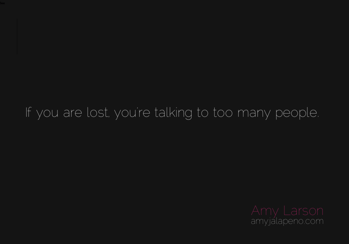 are you lost? (daily hot! quote)