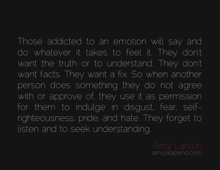 addiction-emotion-truth-understanding-disgust-fear-self-righteousness-pride-hate-listen-relationships-amyjalapeno-dailyhotquote-amylarson