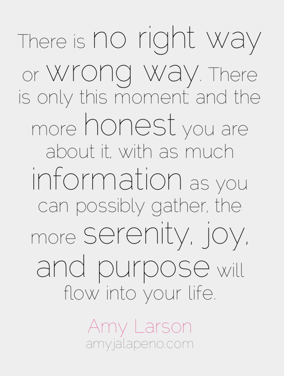 how do you know you are on the right path? (hot! quote)